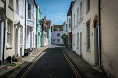 Deal steets and lanes kent. Conservation area stock photography