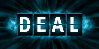 Deal Tags Design - Illustration Royalty Free Stock Photography