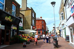 Deal town High street England Stock Photo
