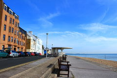 Deal town seafront Kent England Stock Photos