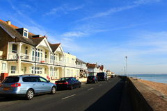 Deal town seafront Kent England Stock Image