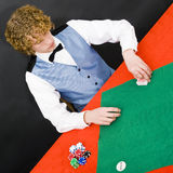 The Dealer Royalty Free Stock Images