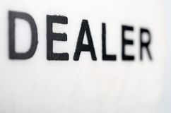 Dealer Stock Image