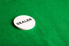 Dealer Chip Royalty Free Stock Photography