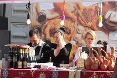 Dealer Georgian cuisine Stock Photography