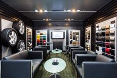 Dealership lounge Royalty Free Stock Photography