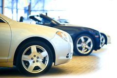 Dealership Showroom Stock Images