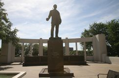 Dealey plac Dallas, Teksas obrazy royalty free