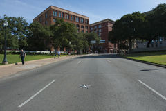 Dealey Plaza in Dallas. Royalty Free Stock Image