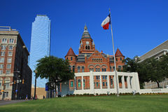 Dealey Plaza in Downtown Dallas Royalty Free Stock Image