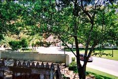 Dealeyplein in Dallas Van de binnenstad De plaats van de moord van President John F kennedy Stock Afbeelding