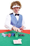 Dealing Cards Stock Images