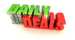 Daily Deals Royalty Free Stock Image