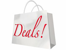 Deals Best Price Store Shopping Bag Event stock illustration