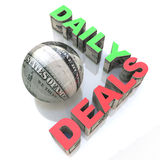 Daily Deals royalty free stock photo