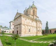 Dealu Monastery in Targoviste Stock Image