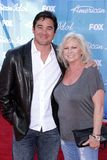 Dean Cain and mom Stock Image