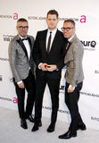 Dean Caten, Michael Buble and Dan Caten Royalty Free Stock Images