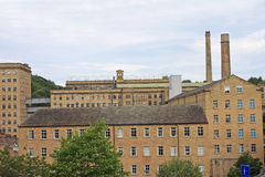 Dean Clough Mill Stock Image