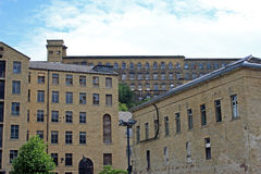 Dean Clough Mill Royalty Free Stock Photography