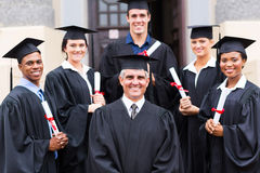 Dean group graduates Royalty Free Stock Images