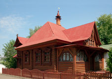 Dean's house in Sts. Boris and Gleb monastery, Dmitrov town Stock Photos