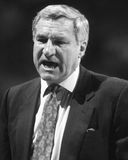 Dean Smith. University of North Carolina basketball head coach Dean Smith. (Image taken from B&W negative stock images
