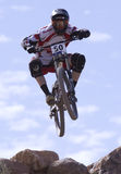 Dean Tennant from Canada - 2009 UCI Mountain Bikes Royalty Free Stock Photography