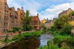 Dean Village in Edinburgh, Scotland Royalty Free Stock Photography