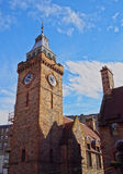 Dean Village in Edinburgh Royalty Free Stock Photos