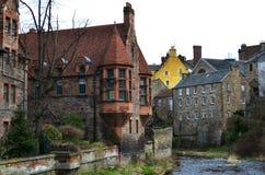 Dean Village. A magical corner in Edinburgh stock photography