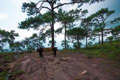 Deang Cliff at PhuKradueng national park Royalty Free Stock Photos
