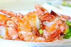 Deap a fait frire des crevettes Photo libre de droits
