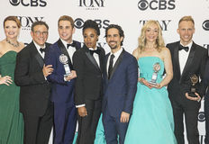 `Dear Evan Hansen` Scores Bigtime at 71st Tonys Royalty Free Stock Photography