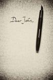 Dear john Royalty Free Stock Image