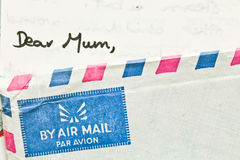 Dear Mum Royalty Free Stock Photo