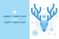 Dear New year card Royalty Free Stock Photo