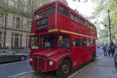 Dear old red bus Royalty Free Stock Photos
