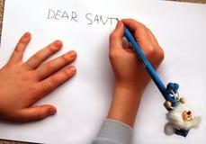Dear Santa stock photos