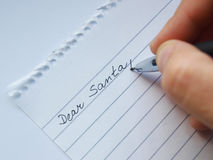 Dear santa Stock Images