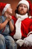Dear Santa! I want..... Stock Photo