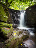Dearden Clough waterfall Royalty Free Stock Images