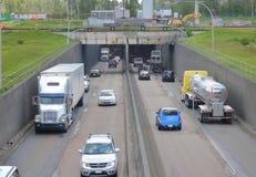 Deas tunelu natężenie ruchu drogowego Zdjęcia Stock