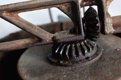 Deatail del engranaje oxidado Fotografía de archivo libre de regalías