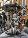 Deatail Fontana delle Tartarughe, Ρώμη Ιταλία Στοκ εικόνα με δικαίωμα ελεύθερης χρήσης