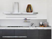 Deatail of modern kitchen Stock Photo