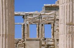 Deatail Of Propylaea Gateway To Acropolis Royalty Free Stock Photos