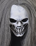 Death. Dress up for Halloween - skull mask royalty free stock photos