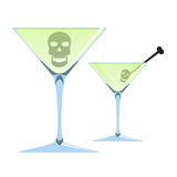 Death in alcohol Stock Photos