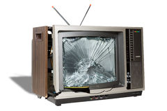 Death of Analog Television Stock Images